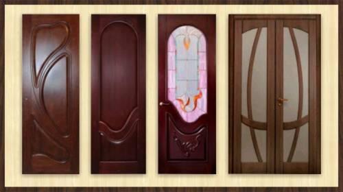 Двери из массива шпонированные купить в Минске