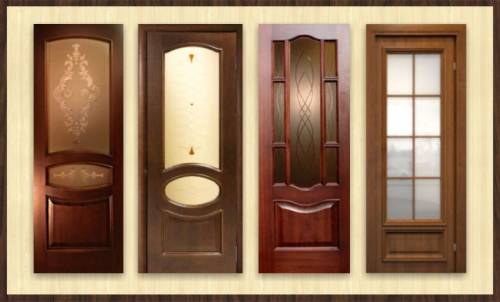 Двери межкомнатные из массив дуба